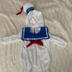 Ghostbusters Stay Puft Marshmallow Costume 2T